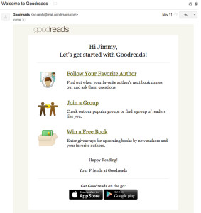 goodreads-welcome-email