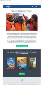 lonely-planet-welcome-email